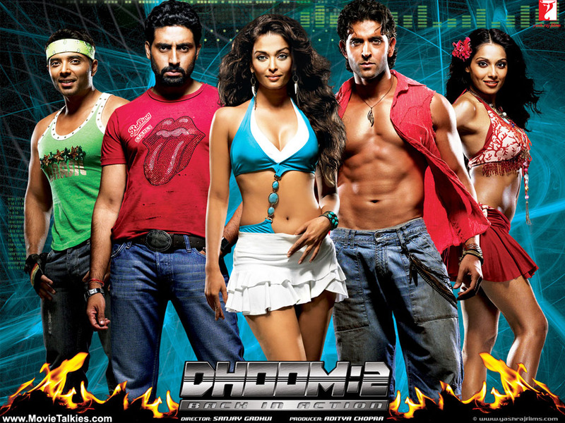 Байкеры 2 / Dhoom 2: Back In Action (2006) DVDRip